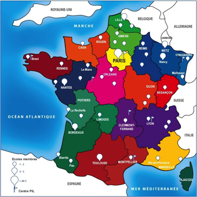 Network Ni Study Engineering In France - Major cities in france