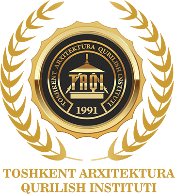 Logo ofTashkent Institute of Architecture and Civil Engin